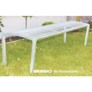 Sitzbank Modell SESSIO Hockerbank
