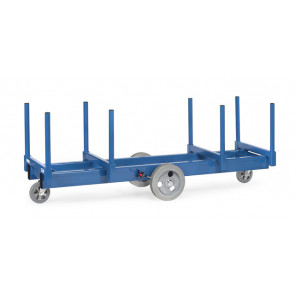 Langmaterial-Wagen mit Rungen 500 mm lang 3000 Kg Tragkraft