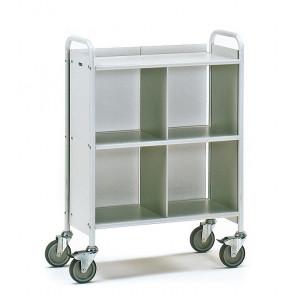 Bürowagen  mit 3 Böden 1 Trenn- und 1 Rückwand