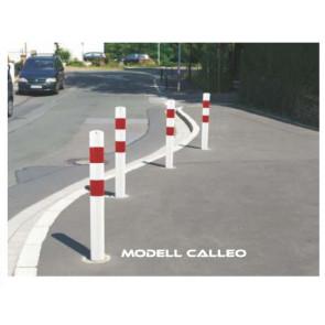 Absperrpfosten Modell CALLEO 102 mm ortsfest und herausnehmbar