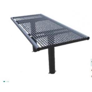Tisch Modell  MAGNUS für 2er Sitzbank