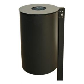 Abfallbehälter mit Pfosten Typ PITTSBURGH - TOSKANA - IMMO RE M