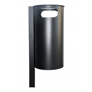 Abfallbehälter mit Pfosten Modell RE N