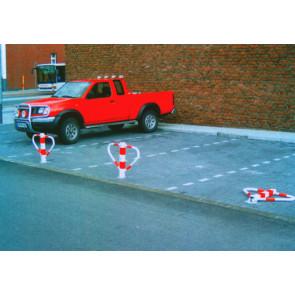 Parkbügel einbeinig klappbar