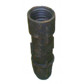 Bodenhülse Grauguß für alle Rohre mit  Ø 48 / 60 / 76 mm