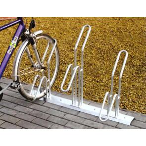 Fahrradständer Modell AXOS einseitige Einstellung zum aufdübeln
