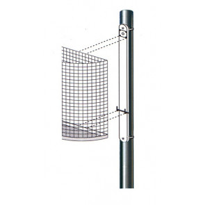Befestigungsschiene für Drahtabfallbehälter M1 und M2