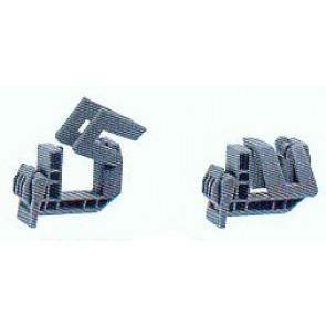 Klemmschelle Typ D Duplex für Alform bis 30 mm Randstärke
