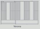 Boxenfront Modell 50 Verona