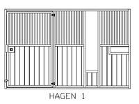 Boxenfront Modell 50 Hagen