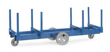 Langmaterial-Wagen mit Rungen 500 mm lang 2500 Kg Tragkraft