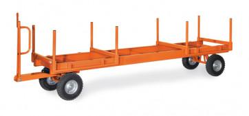 Langmaterial-Anhänger 2t 2-Achs-Drehschemel-Lenkung