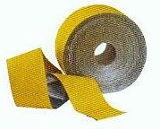 Markierungsfolie Dünnschicht auf Aluminiumträger 250 mm gelb