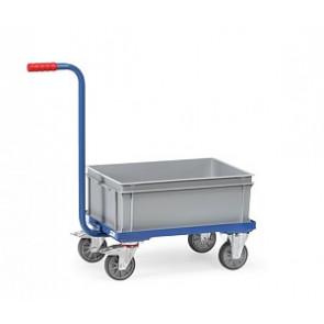 Griffroller mit offenem Rahmen 6 ein niedriger Kunststoffkasten
