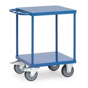 Tischwagen mit Stahlblech-Plattformen