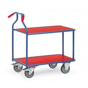 Optiliner Tischwagen mit 2 Böden