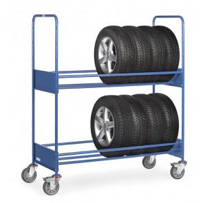 Reifenwagen 250 kg mit 2 Ladeflächen