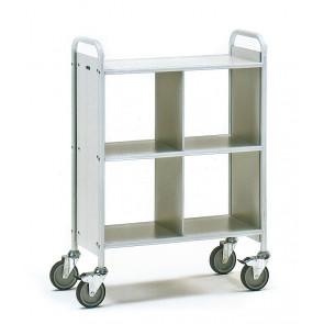 Bürowagen mit 3 Böden und 1 Trennwand