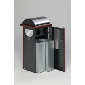 Abfallsammler / Ascher Kombination AG60