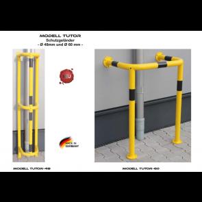 Schutzgeländer Modell TUTOR Ø 48mm und Ø 60 mm