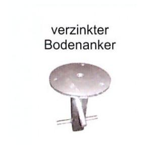 verzinkter Bodenanker