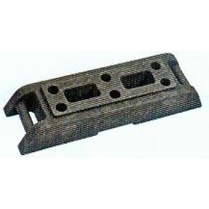 Fußplatte Bauzaun Typ 2