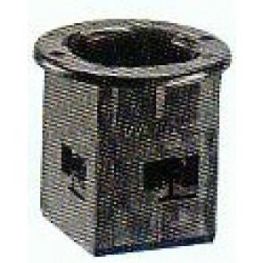 Drehadapter-Außenteil für Aufnahme in der Fußplatte 60 x 60 mm kurze Ausführung