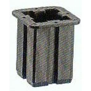 Rohrschuh für die Aufnahme in der Fußplatte 60 x 60 mm