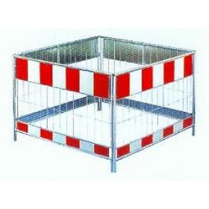 Schachtschutzgitter Stahl 1000 x 1000 mm