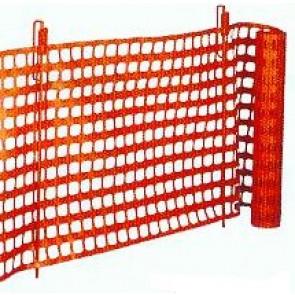 Absperrhalter mit Sicherheitsbügel für Kunststoff Fangzaun