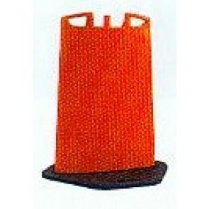 Hinweistafel orange ohne Folie