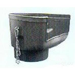 Einfülltrichter kurze Ausführung für Schuttrohr