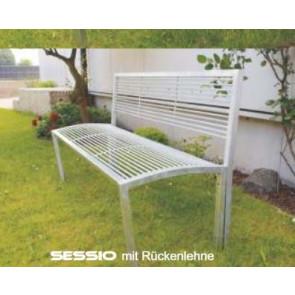 Sitzbank Modell SESSIO Hockerbank mit Rückenlehne